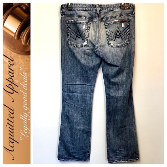 638221137bd 7 for all Mankind Denim - 7 For All Mankind | A Pocket Jeans Extra Long